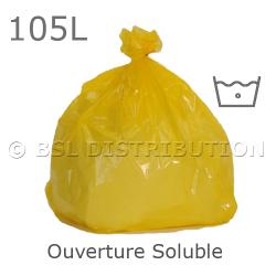 Sac à linge à ouverture soluble 105L - Eau froide