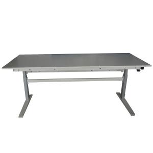 Table ergonomique INOX à hauteur réglable - Motorisée