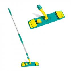 Manche et Support frange de nettoyage professionnel - Frange languettes 3 trous
