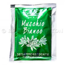 MUSCHIO BIANCO : Dosette d'Assouplissant Liquide Concentré 50 ml.