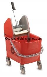 Seau de nettoyage avec presse