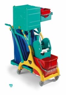 Mini Chariot de nettoyage ''NICK STAR 110 BOX