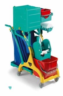 Mini Chariot de nettoyage ''NICK STAR 120 BOX