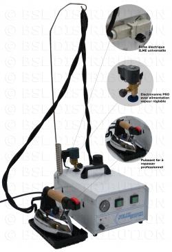 Centrale vapeur professionnelle, chaudière INOX 3 Litres